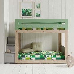 Patrové postele v různé výšce